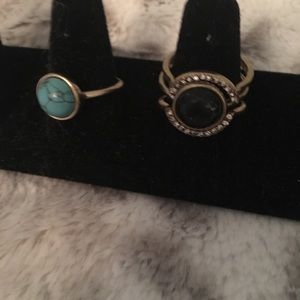 Chloe + Isabel Jewelry - 4 ring set. NWT